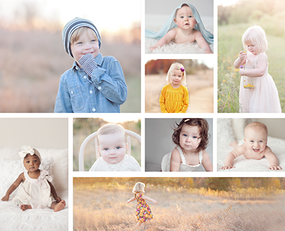 baby child collage